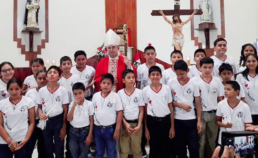 Sacramentos de Iniciación Cristiana en la Parroquia de Morales