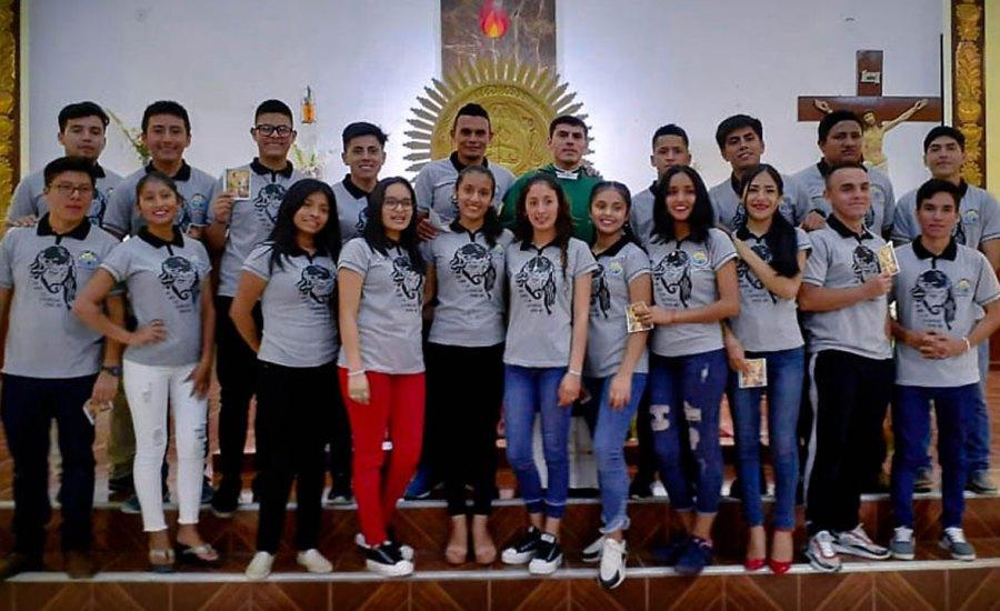 """Grupo Juvenil """"JUCAMI"""" de Nueva Cajamarca celebró su 2º aniversario"""