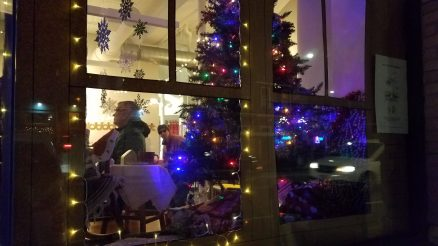 PCA Holiday Windows invoked the spirit of the season.