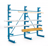 Cantilever Rack Tapered Arms - Double Sided