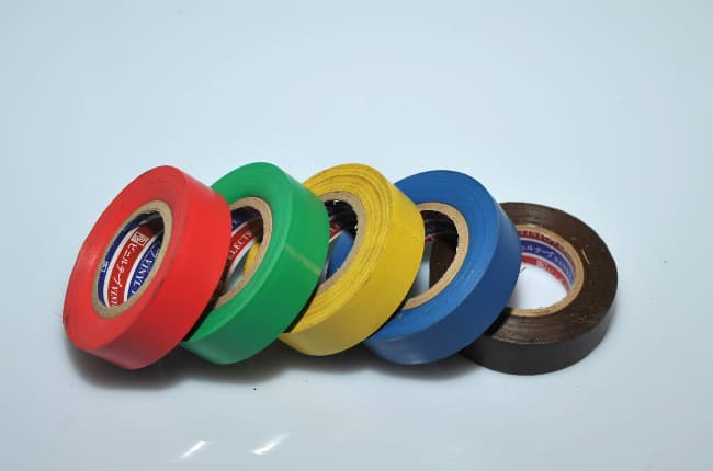 INSULATION TAPE - DIFFERENT COLOURS