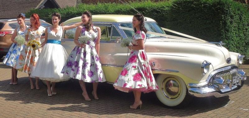 American Car Wedding Decoration Ideas Kent