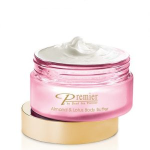 Alomond and lotus body butter