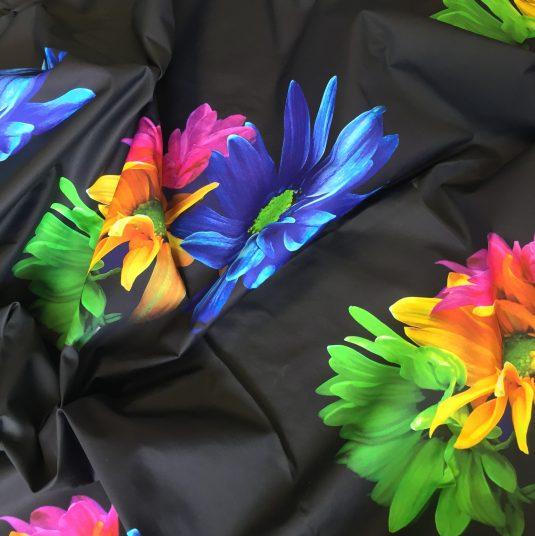 pigment printed cotton