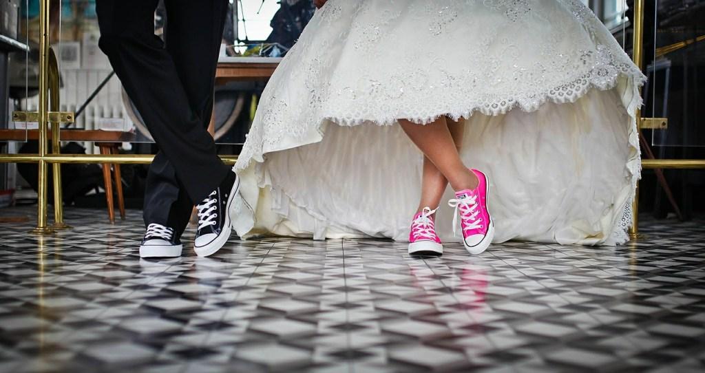 Chaussures chorégraphie ouverture de bal