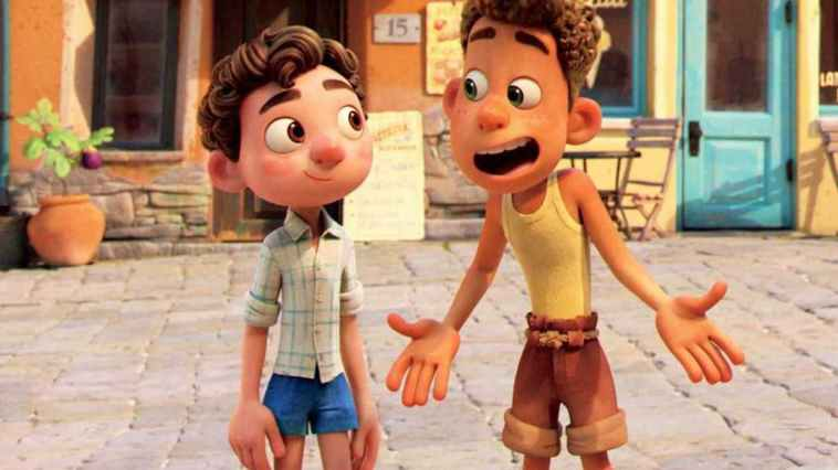 Pixar dévoile la bande-annonce longue et ensoleillée de Luca