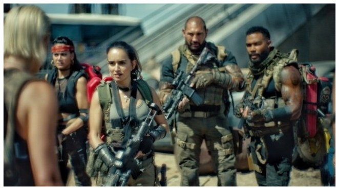 Army of the Dead de Zack Snyder: la bande-annonce qui fait boum