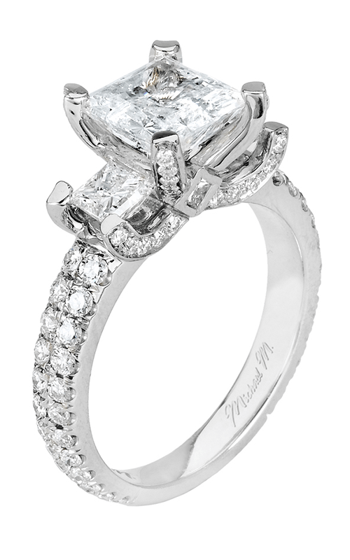 Michael M - Three Stone Engagement Rings