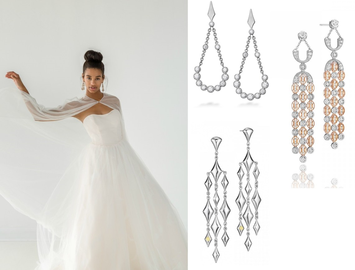 Tacori and Hearts on Fire Earrings from Benari Jewelers in Exton and Newtown Square, PA