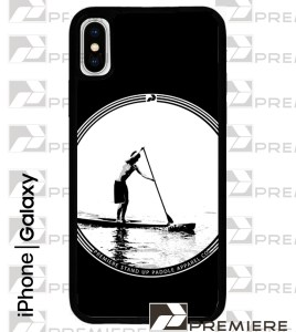 Black Circle SUP Case