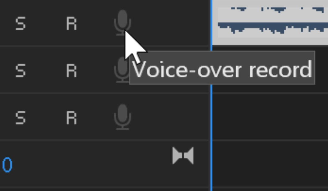 Registriamo un voiceover