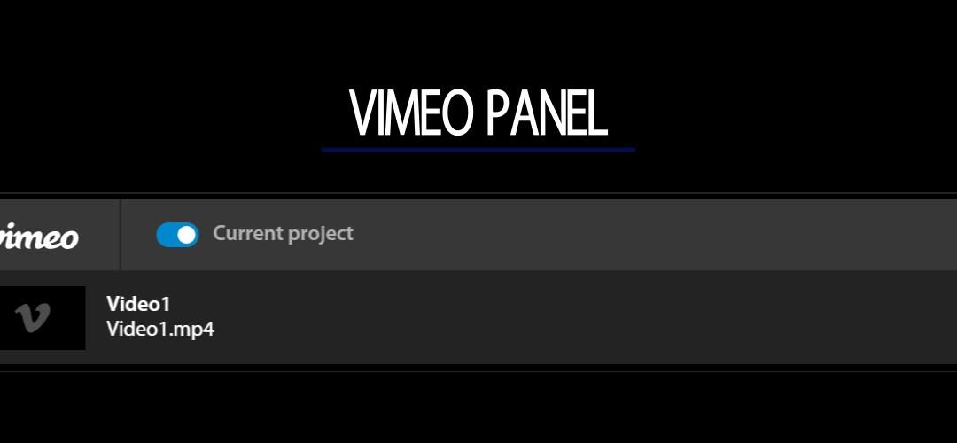 Una maggiore integrazione tra Vimeo e Premiere Pro