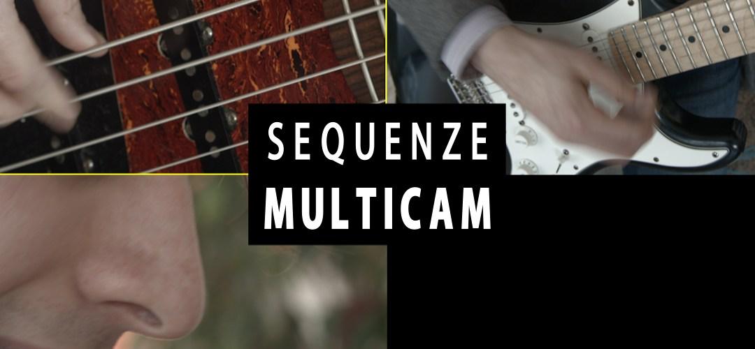 Creare una sequenza multicamera da pannello progetto