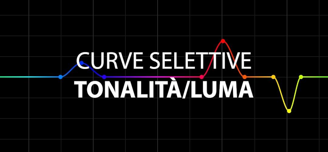 Curva selettiva Tonalità/Luma (CC 2019)