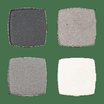 Absolute Minerals Devita Skin Care absolute EYES Quad Platinum Smoke D00929