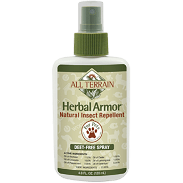 All Terrain Pet Herbal Armor Insect Repell Spray 4oz AT1090