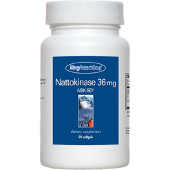 Allergy Research Group Nattokinase NSK SD® 36 mg 90 gels NATTO