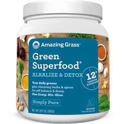 Amazing Grass Alkalize amp Detox Green Superfood 100 srv A03549