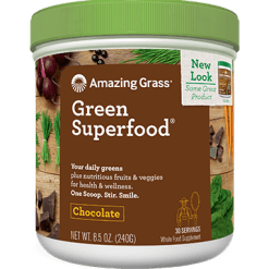 Amazing Grass Green SuperFood Chocolate Powder 30 serv GSFC