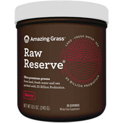 Amazing Grass Green SuperFood Raw Reserve Berry 8.5 oz A01149