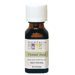 Aura Cacia Fennel Essential Oil .5oz A11171