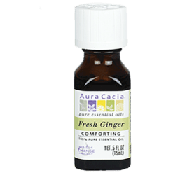 Aura Cacia Fresh Ginger Essential Oil .5 fl oz A12215