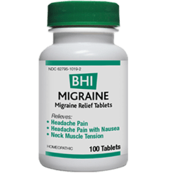 BHI Heel Migraine 100 tabs HEAD4