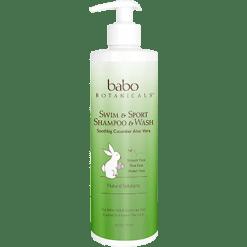 Babo Botanicals Swim Sport Shampoo 16 fl oz B82026