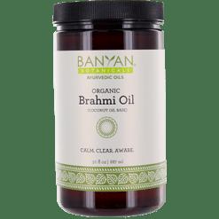 Banyan Botanicals Brahmi Oil Coconut Organic 30 fl oz B33012