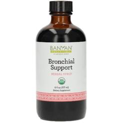 Banyan Botanicals Bronchial Support Syrup Organic 4 fl oz B27011