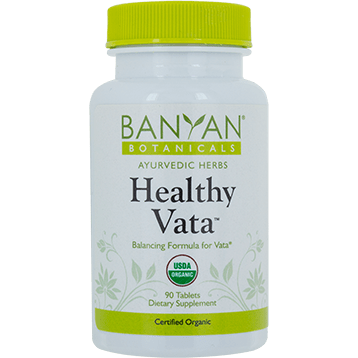 Banyan Botanicals Healthy Vata Organic 90 tabs B13113