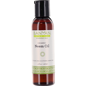 Banyan Botanicals Neem Oil Certified Organic 4 oz NEEM5