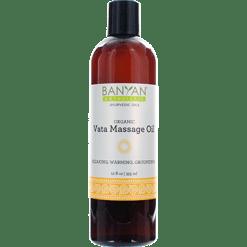 Banyan Botanicals Vata Massage Oil Organic 12 oz BY3355