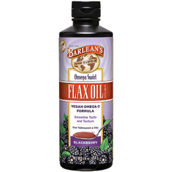 Barleans Blackberry Omega Swirl Flax Oil 16 oz BE16B