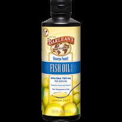 Barleans Omega Swirl Fish Oil Lemon Zest 16 oz B16FL