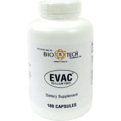 Bio Tech Evac Psyllium Fiber 180 caps BI436A