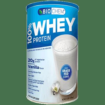 Biochem 100 Whey Protein Vanilla 15.1 oz B20103