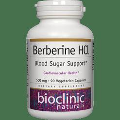 Bioclinic Naturals Berberine HCL 90 vegcaps BC2314