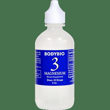 BodyBio E Lyte 3 Magnesium Trace Minerals 4 oz MAG28