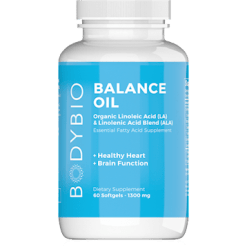 BodyBio E Lyte BodyBio Balance Oil 60 softgels B11051