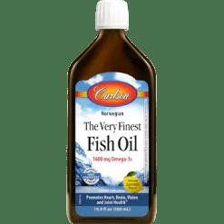 Carlson Labs Finest Fish Oil Omega 3 500 ml FINE2