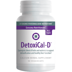 DAdamo Personalized Nutrition DetoxiCal D 90 vcaps NP053