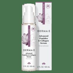 DERMA E Natural Bodycare Adv Peptides amp Collagen Serum 2 oz D07251
