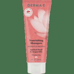 DERMA E Natural Bodycare Hydrate Smooth Nourish Shampoo 8 fl oz D63004