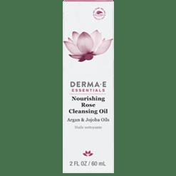 DERMA E Natural Bodycare Nourishing Rose Cleansing Oil 2 fl oz D14709