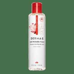 DERMA E Natural Bodycare Refining Vitamin A Glycolic Toner 6 oz D04823