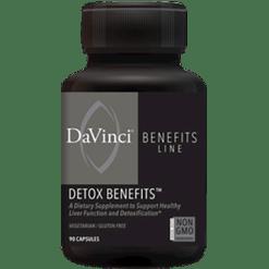 DaVinci Labs Detox Benefits 90 caps DV7667