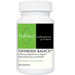 DaVinci Labs Thyroid Basics™ 120 vcaps THY60