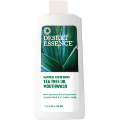 Desert Essence Tea Tree Oil Mouthwash Spearmin 16 fl oz D21137