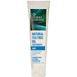 Desert Essence Tea Tree Oil Toothpaste Mint 6.25 oz D20550